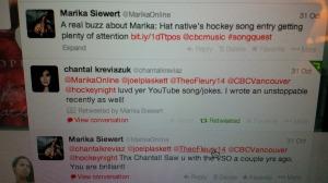 Chantal Tweet
